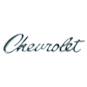 Chevrolet Header Emblem Jeff S Muscle Cars And Classics